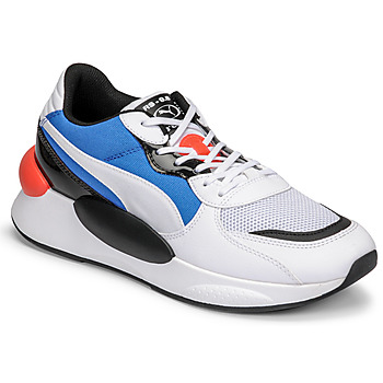 kengät Miehet Matalavartiset tennarit Puma RS 9.8 MERMAID White / Black / Blue