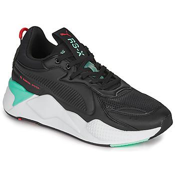 kengät Miehet Matalavartiset tennarit Puma RS-X Black / Valkoinen