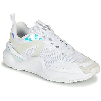 kengät Naiset Matalavartiset tennarit Puma RISE Glow White