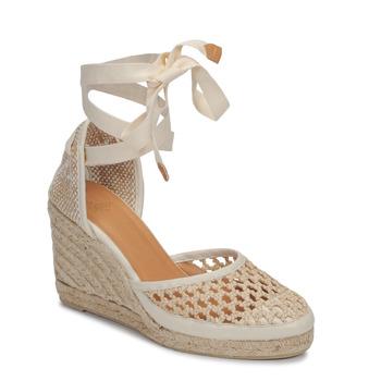kengät Naiset Sandaalit ja avokkaat Castaner CAROLA Creme