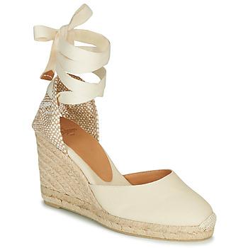 kengät Naiset Sandaalit ja avokkaat Castaner CARINA Creme