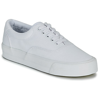 kengät Naiset Matalavartiset tennarit Superdry CLASSIC LACE UP TRAINER White