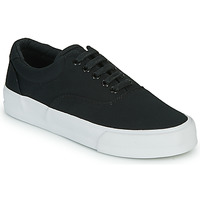 kengät Naiset Matalavartiset tennarit Superdry CLASSIC LACE UP TRAINER Black