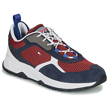 kengät Miehet Matalavartiset tennarit Tommy Hilfiger FASHION MIX SNEAKER Blue