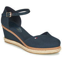 kengät Naiset Sandaalit ja avokkaat Tommy Hilfiger BASIC CLOSED TOE MID WEDGE Blue