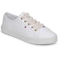 kengät Naiset Matalavartiset tennarit Tommy Hilfiger ESSENTIAL NAUTICAL SNEAKER White