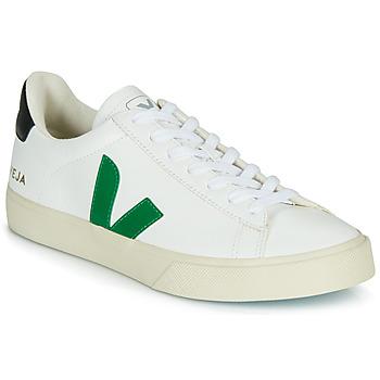 kengät Matalavartiset tennarit Veja CAMPO White / Green / Black