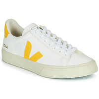 kengät Naiset Matalavartiset tennarit Veja CAMPO White / Yellow