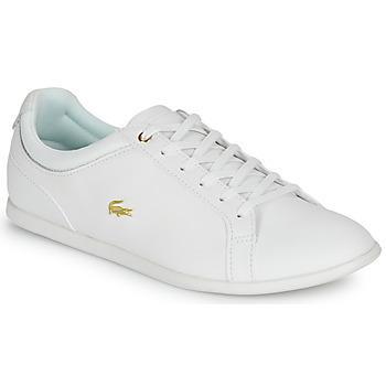 kengät Naiset Matalavartiset tennarit Lacoste REY LACE 120 1 CFA White / Kulta