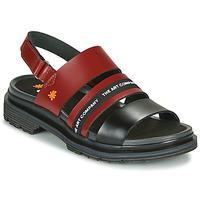 kengät Naiset Sandaalit ja avokkaat Art BIRMINGHAM Bordeaux / Black