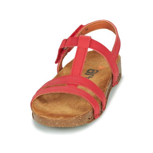 Art I Breathe Red - Ilmainen Toimitus- Kengät Sandaalit Naiset 60