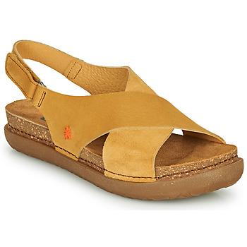 kengät Naiset Sandaalit ja avokkaat Art RHODES Sinappi