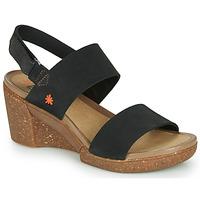 kengät Naiset Sandaalit ja avokkaat Art ROTTERDAM Musta