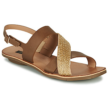 kengät Naiset Sandaalit ja avokkaat Neosens DAPHNI Brown / Beige