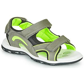 kengät Pojat Urheilusandaalit Chicco CEDDER Grey / Green