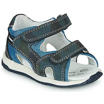 kengät Pojat Urheilusandaalit Chicco GEREMIA Blue