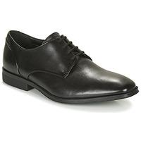 kengät Miehet Derby-kengät Clarks GILMAN PLAIN Black
