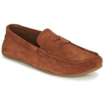 kengät Miehet Mokkasiinit Clarks REAZOR PENNY Camel