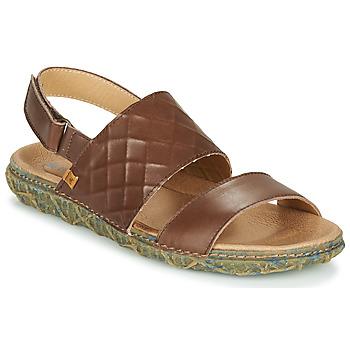 kengät Naiset Sandaalit ja avokkaat El Naturalista REDES Ruskea