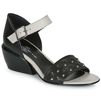 kengät Naiset Sandaalit ja avokkaat Fru.it LEMMINE Black / White