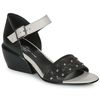kengät Naiset Sandaalit ja avokkaat Fru.it  Black / White