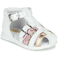 kengät Tytöt Sandaalit ja avokkaat GBB PERLE White
