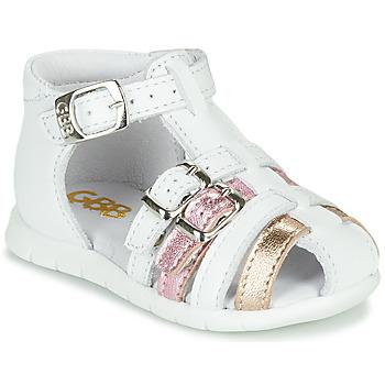 kengät Tytöt Sandaalit ja avokkaat GBB PERLE Valkoinen