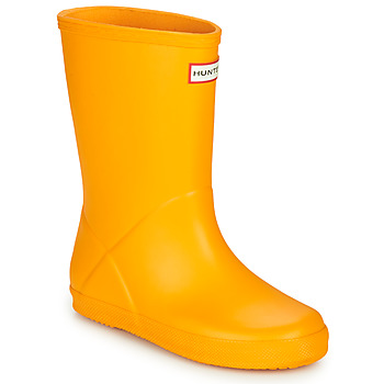 kengät Lapset Kumisaappaat Hunter KIDS FIRST CLASSIC Yellow
