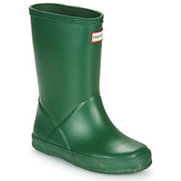 kengät Lapset Kumisaappaat Hunter KIDS FIRST CLASSIC Green