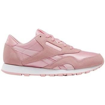 kengät Tytöt Matalavartiset tennarit Reebok Sport CL Nylon Vaaleanpunaiset