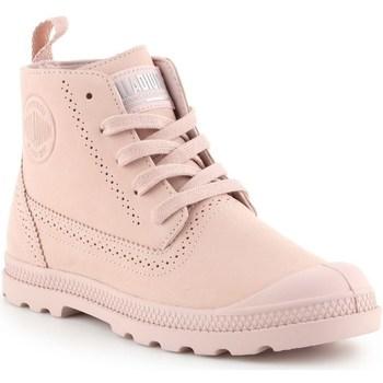 kengät Naiset Bootsit Palladium Manufacture Pampa Ldn LP Vaaleanpunaiset