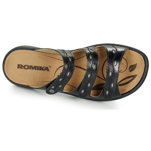 Romika Westland Ibiza 66 Black - Ilmainen Toimitus- Kengät Sandaalit Naiset 57