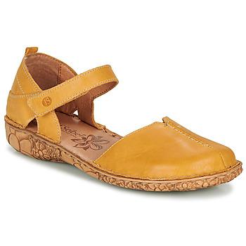 kengät Naiset Sandaalit ja avokkaat Josef Seibel ROSALIE 42 Keltainen
