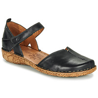 kengät Naiset Sandaalit ja avokkaat Josef Seibel ROSALIE 42 Musta