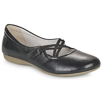 kengät Naiset Balleriinat Josef Seibel FIONA 39 Black