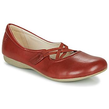 kengät Naiset Balleriinat Josef Seibel FIONA 41 Red