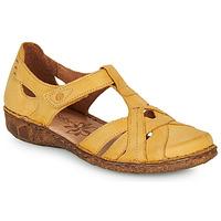 kengät Naiset Sandaalit ja avokkaat Josef Seibel ROSALIE 29 Keltainen