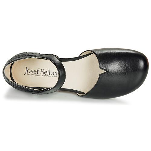 Josef Seibel Fiona67 Black - Ilmainen Toimitus- Kengät Sandaalit Naiset 65