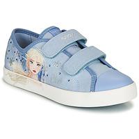 kengät Tytöt Matalavartiset tennarit Geox JR CIAK GIRL Blue