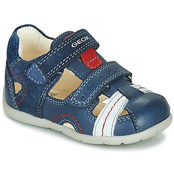 kengät Pojat Sandaalit ja avokkaat Geox B KAYTAN Blue / White / Red