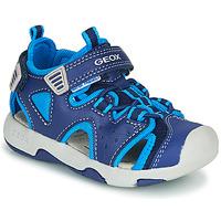 kengät Pojat Urheilusandaalit Geox B SANDAL MULTY BOY Blue
