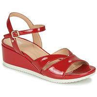 kengät Naiset Sandaalit ja avokkaat Geox D ISCHIA Red