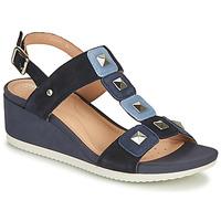 kengät Naiset Sandaalit ja avokkaat Geox D ISCHIA Blue