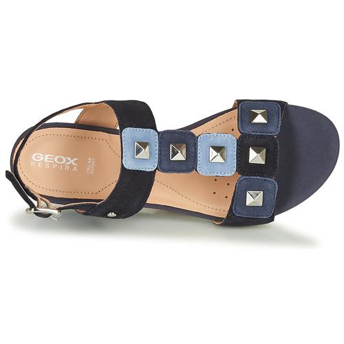 Geox D Ischia Blue - Ilmainen Toimitus- Kengät Sandaalit Naiset 90