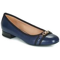 kengät Naiset Balleriinat Geox D WISTREY Laivastonsininen / Black