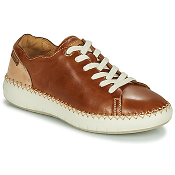 kengät Naiset Matalavartiset tennarit Pikolinos MESINA W6B Brown / Beige