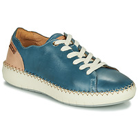 kengät Naiset Matalavartiset tennarit Pikolinos MESINA W6B Blue / Pink