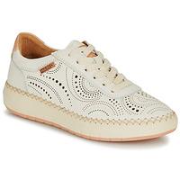 kengät Naiset Matalavartiset tennarit Pikolinos MESINA W6B White / Pink