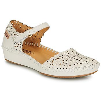 kengät Naiset Balleriinat Pikolinos P. VALLARTA 655 White