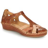 kengät Naiset Sandaalit ja avokkaat Pikolinos P. VALLARTA 655 Cognac / Camel